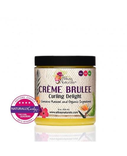 ALIKAY NATURALS - Crème Coiffante à La Crème Brûlée