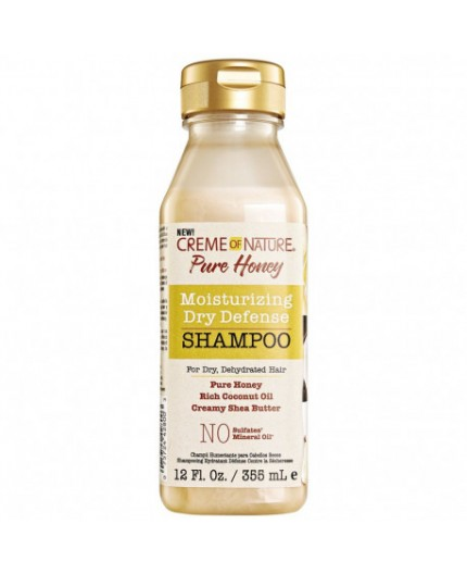 Creme Of Nature Pure Honey Shampoing hydratant