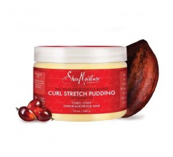 SHEA MOISTURE - RED PALM & COCOA - Crème Anti-Shrinkage (Curl Stretch Pudding) - 340g SHEA MOISTURE ebcosmetique