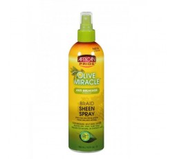AFRICAN PRIDE - Spray Brillance A L'Huile D'Olive (Miracle Braid Sheen) AFRICAN PRIDE  SPRAY & LOTION