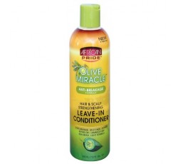 AFRICAN PRIDE - Soin Miracle Sans Rinçage A L'Huile D'Olive (Leave-In Conditioner) AFRICAN PRIDE  CONDITIONNER SANS RINÇAGE