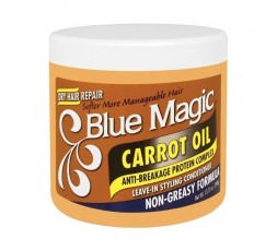BLUE MAGIC - Soin Capillaire Sans Rinçage Huile De Carotte (Carrot Oil) BLUE MAGIC ebcosmetique