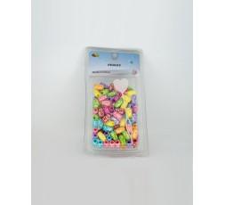 E ACCESSOIRES - Perles Multicolores En Plastiques E Accessoires ACCESSOIRES DE COIFFURE