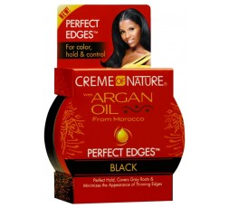 CREME OF NATURE - Gel Pour Baby Hair A L'Huile D'Argan (Perfect Edges Black) CREME OF NATURE  GEL
