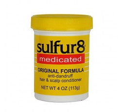 SULFUR 8 - Soin Capillaire Traitement Anti-Pelliculaires (Anti-dandruff Hair & Scalp Conditioner) SULFUR 8 ebcosmetique