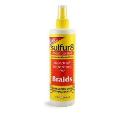 SULFUR 8 - Spray Pour Tresses (Braids Spray) SULFUR 8 ebcosmetique