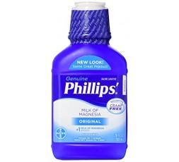 GENUINE PHILLIPS - Lait de Magnésie Original (Milk Of Magnesia) GENUINE PHILLIPS ebcosmetique