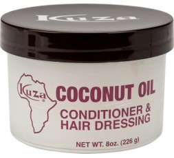 KUZA - Crème Coiffante A L'Huile De Coco (Coconut Oil Conditioner Hair Dressing) KUZA CRÈME COIFFANTE