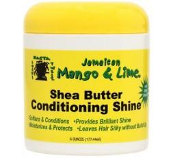 JAMAICAN MANGO LIME - Soin Au Beurre De Karité (Shea Butter Conditioning Shine) JAMAICAN MANGO & LIME SOIN LOCKS