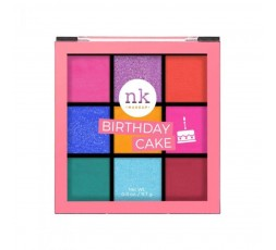 NK MAKE UP - Palette De Fards A Paupières Birthday Cake (Eyeshadows) NICKA K PALETTES