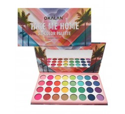 OKALAN - Palette De Fards A Paupières Take Me Home OKALAN ebcosmetique