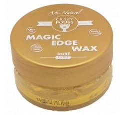 CRAZY POUSS - Gel Coiffant Magic Edge Wax Dorée CRAZY POUSS GEL
