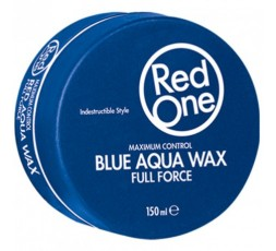 RED ONE - Cire Coiffante Puissance Maximale (Blue Aqua Wax Full Force) RED ONE  GEL