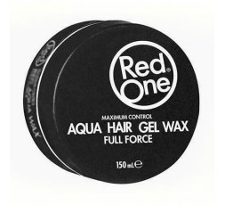RED ONE - Cire Coiffante Puissance Maximale (Black Aqua Wax Full Force) RED ONE  GEL