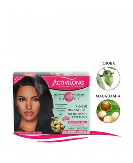 Activilong Acti Gloss- Kit Défrisage Sans Soude Macadamia & Jojoba