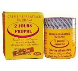 2 JOURS PROPRE - Crème Réparatrice Eclaircissante Extra Forte Pour Visage 2 JOURS PROPRE CRÈME ÉCLAIRCISSANTE VISAGE