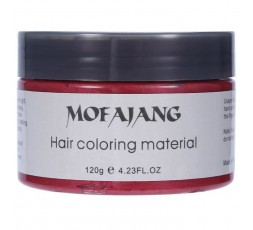 MOFAJANG - Cire Colorante Temporaire Naturelle Rouge (Hair Coloring) MOFAJANG ebcosmetique