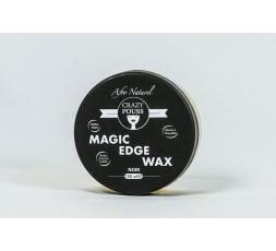 CRAZY POUSS - Gel Coiffant Magic Edge Wax Noir CRAZY POUSS GEL