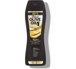 ORS - Black Olive Oil - Shampoing Sans Sulfate Huile D'Olive Noire (Repair 7) ORS  ebcosmetique