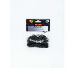 E ACCESSOIRE- Petit Elastique Noir Pour Cheveux x300 E Accessoires ebcosmetique