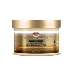 AFRICAN PRIDE Black Castor Oil Miracle- Beurre Capillaire Hydratant (Moisture Butter) AFRICAN PRIDE  MASQUE