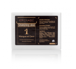 CRENABE - Shampoing Solide Mangue & Coco CRENABE ebcosmetique