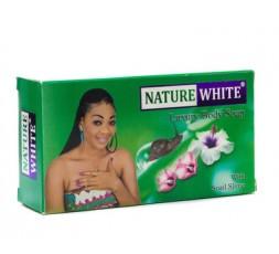 NATURE WHITE - Savon de Luxe Éclaircissant à la Bave d'Escargot NATURE WHITE SAVON
