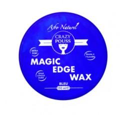 CRAZY POUSS - Gel Coiffant Magic Edge Wax Bleu CRAZY POUSS GEL