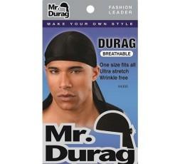 MR DURAG - Durag Stretch Noir 4300 MR DURAG ACCESSOIRES DE COIFFURE