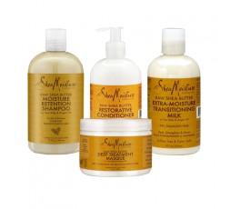 SHEA MOISTURE - Pack Extra Hydratant Raw Shea Butter SHEA MOISTURE LES PACKS & GAMMES
