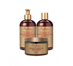 SHEA MOISTURE - Pack Hydratation Intense Manuka Honey & Mafura Oil SHEA MOISTURE LES PACKS & GAMMES