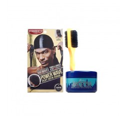SCURL - Pack Wave Durag Noir SCURL ebcosmetique