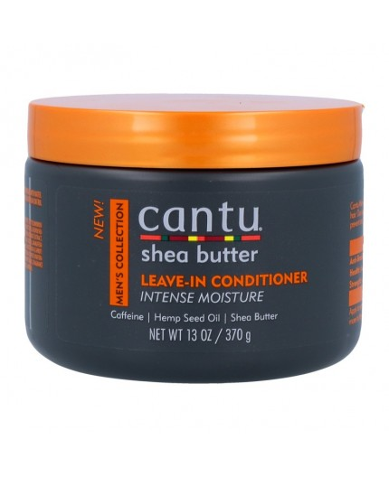 CANTU - MEN'S COLLECTION - Démêlant Sans Rinçage au Beurre de Karité (Leave-In Conditioner Intense Moisture) - 370g
