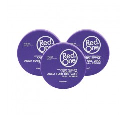 RED ONE - Pack Cire Coiffante Puissance Maximale (Violetta Aqua Wax Full Force) RED ONE  ebcosmetique