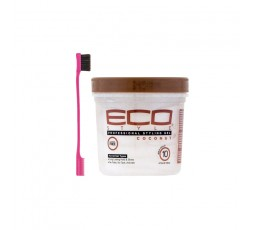 ECO STYLER - Pack Gel Coconut Oil + Brosse Baby Hair 473ml ECO STYLER  ebcosmetique