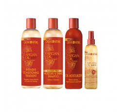 CREME OF NATURE - Pack Huile d'Argan (Argan Oil) CREME OF NATURE  PRODUIT CAPILLAIRE