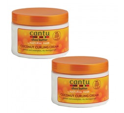 CANTU - NATURAL HAIR - Pack Crème coiffante à l'huile de Coco (Coconut Curling Cream) CANTU ebcosmetique