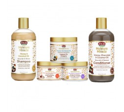 AFRICAN PRIDE - Pack Hydratation Intense Moisture Miracle AFRICAN PRIDE  LES PACKS & GAMMES