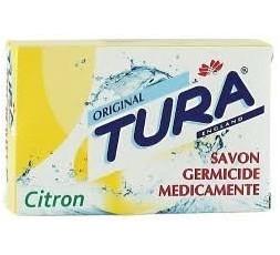 TURA - Savon Médicinal au Citron Corps & Visage (Soap Medicated Lemon)  SAVON