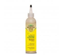 TALIAH WAAJID - PROTECTIVE STYLES - Shampoing Hydratant au Bambou, Menthe & Lait de Coco (Moisturizing Mint Shampoo) TALIAH W...