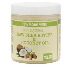 YARI - Beurre de Karité & Huile de Coco 100% Naturel (Raw Shea Moisture & Coconut Oil) YARI HUILE CAPILLAIRE