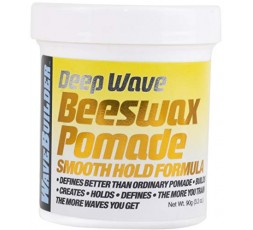 WAVE BUILDER - Pommade Coiffante à la Cire d'Abeille Longue Tenue (Deep Wave) WAVE BUILDER  GEL