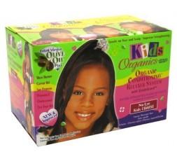 Africa's Best Kids Organics - Kit Défrisage Pour Enfant AFRICA'S BEST  DÉFRISAGE & ASSOUPLISANT
