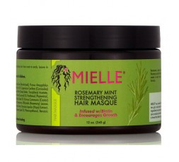 MIELLE ORGANICS - ROSEMARY MINT - Masque Capillaire Fortifiant au Romarin & Menthe (Strengthening Hair) MIELLE ORGANICS MASQUE