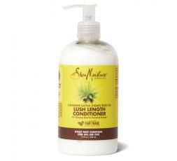 SHEA MOISTURE - LUSH LENGTH - Après-Shampoing à l'Huile de Graines de Cannabis Savita (Chanvre) SHEA MOISTURE APRÈS-SHAMPOING