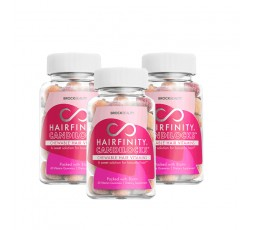 BROCKBEAUTY HAIRFINITY - Cure 3 Mois Compléments Alimentaires Candolocks Chewable Vitamins  LES PACKS & GAMMES