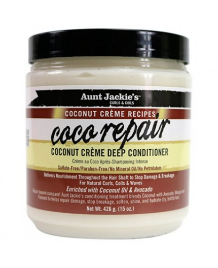 Aunt Jackie's Coconut- Crème Deep Conditioner