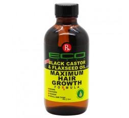ECO STYLER - Huile de Croissance Capillaire Huile de Ricin Noire Graine de Lin (Maximum Hair Growth) ECO STYLER  HUILE NATURELLE