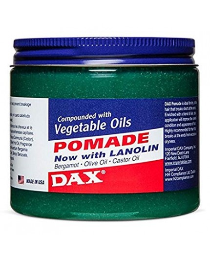 Dax - Pommade Vegetable Oils