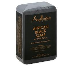 SHEA MOISTURE - AFRICAN BLACK SOAP - Savon Noir au Karité (African Black Soap & Shea Butter) SHEA MOISTURE SAVON